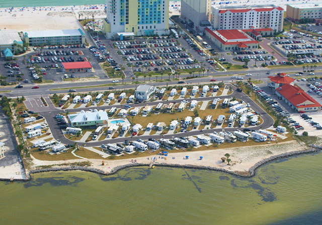 Pensacola_Beach_RV_Resort Aerial View