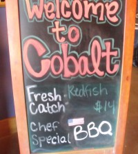 Cobalt Restaurant Orange Beach, Ala.