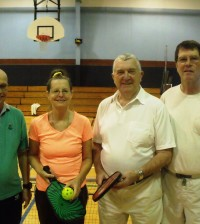 New friends are made from weekly Destin Snowbirds Pickleball.