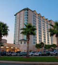 Exterior shot of the Hollywood Casino and Hotel in Bay St. Louis, MS.