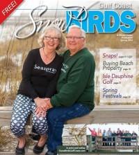 Snowbirds Gulf Coast Spring 2016 Cover Couple